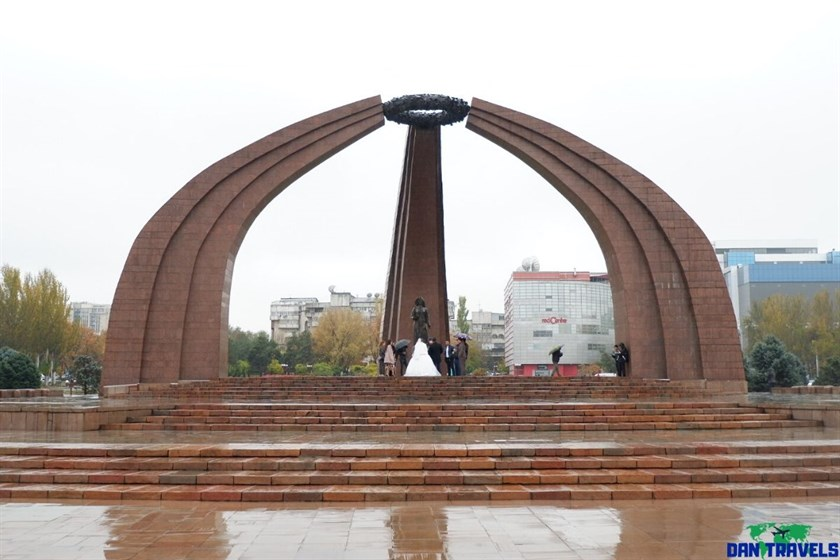 Victory Square in Bishkek