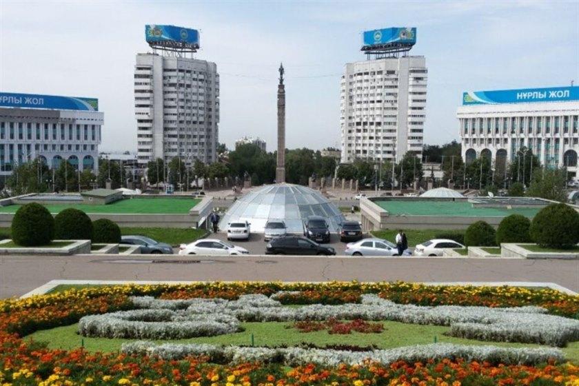 Almaty Republic Square | Dantravels.org