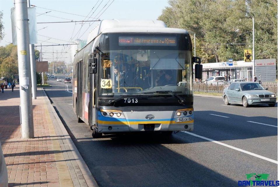 Bus #34 in Almaty | Dantravels.org