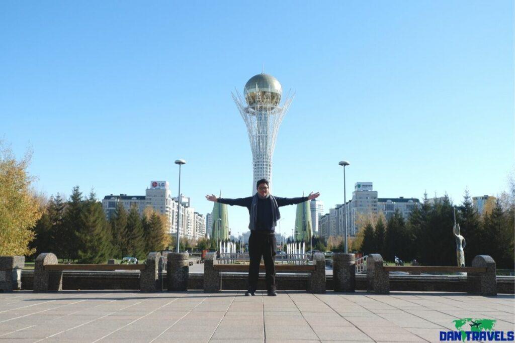 Bayterek Tower from my Nursultan Itinerary (Astana)
