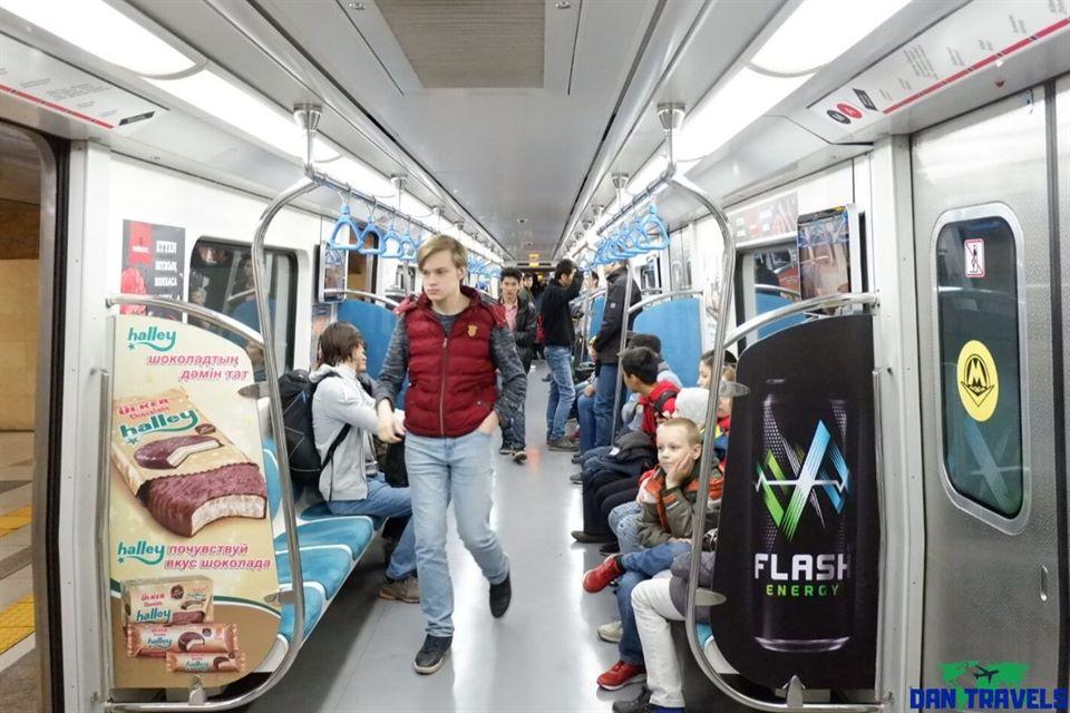 Metro subway in Almaty | Dantravels.org
