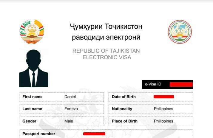 My Tajikistan eVisa | Dantravels.org