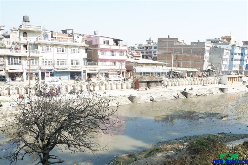 Banks of the Bagmati River