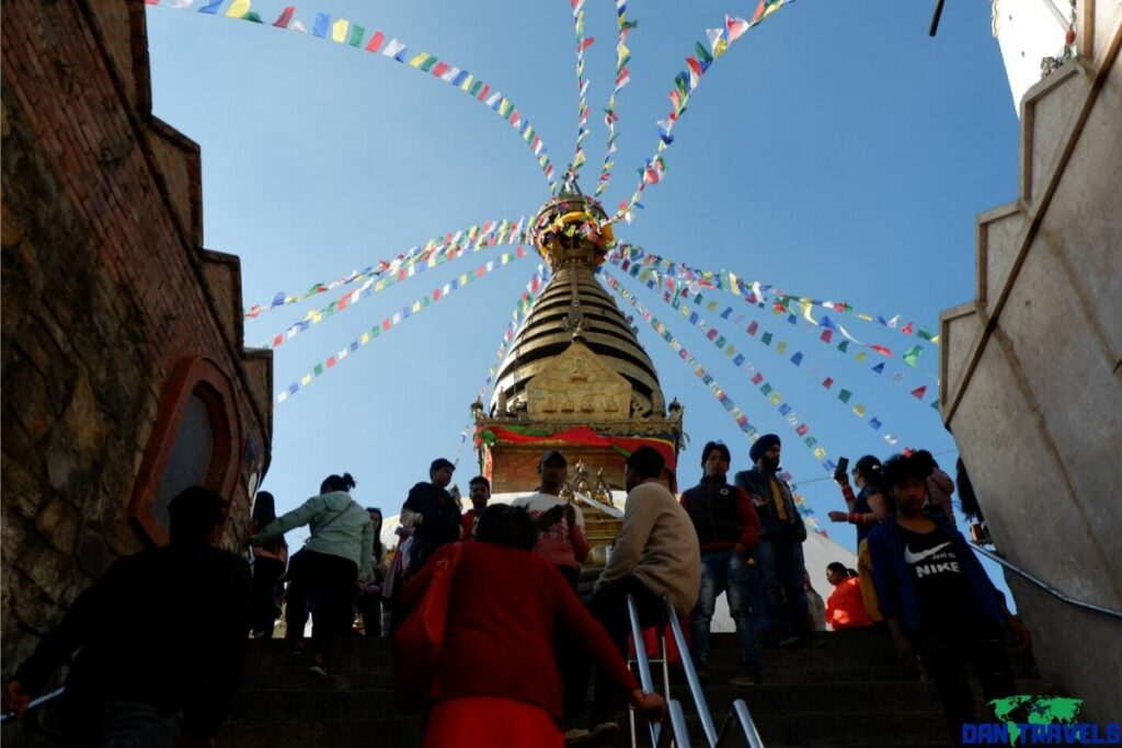 Swayambhunath (OR Monkey) Temple