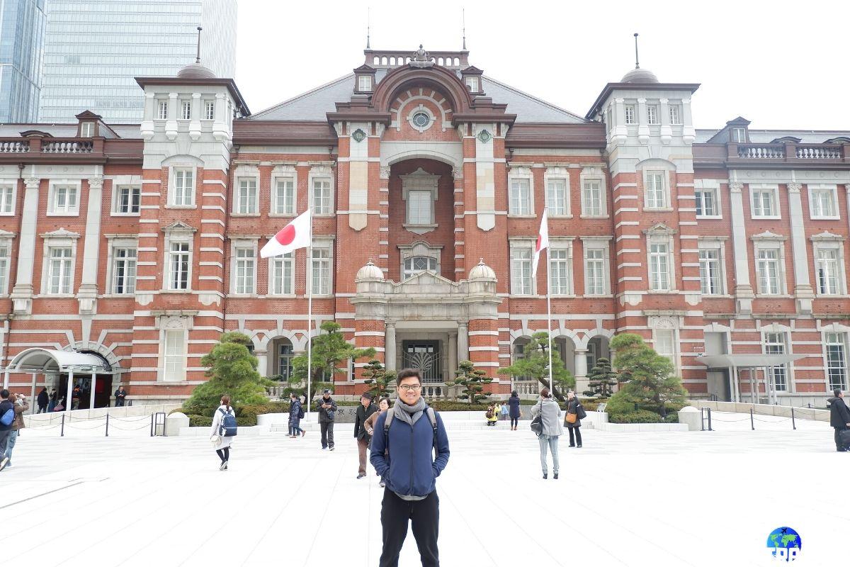 Day 3: Tokyo station building | Dantravels.org