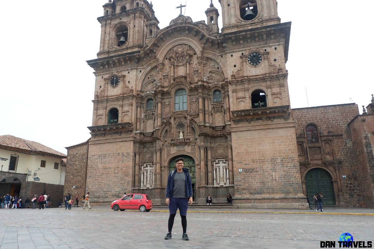 Day 3: Cusco Cathedral at Plaza Mayor in Cusco