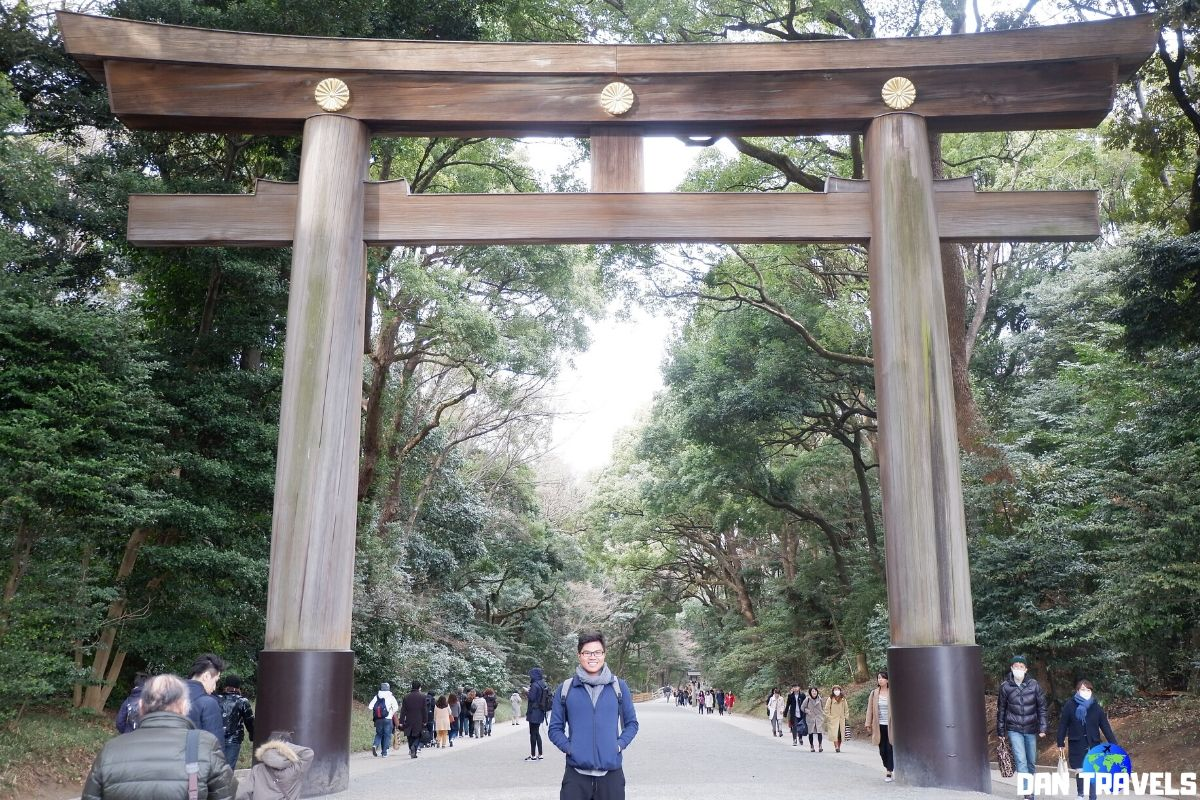 Day 3: Meiji Shrine | Dantravels.org