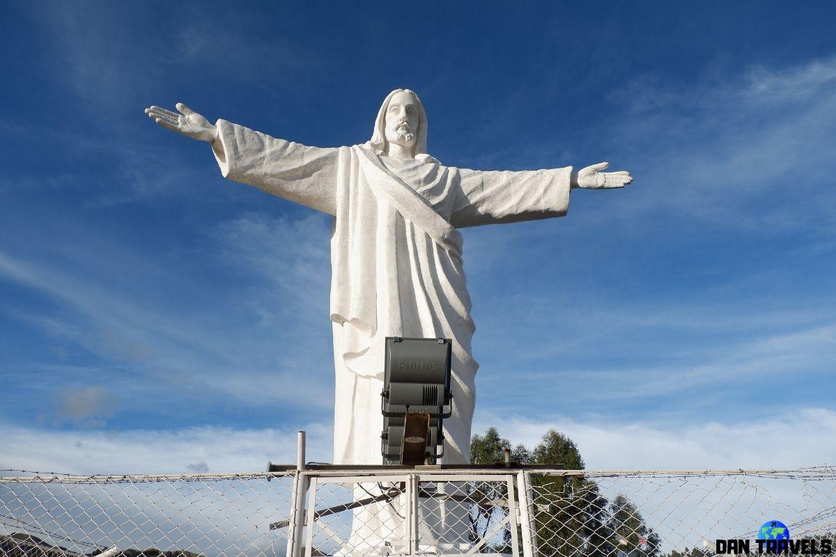 Day 3: The statue of Cristo Blanco | Dantravels.org