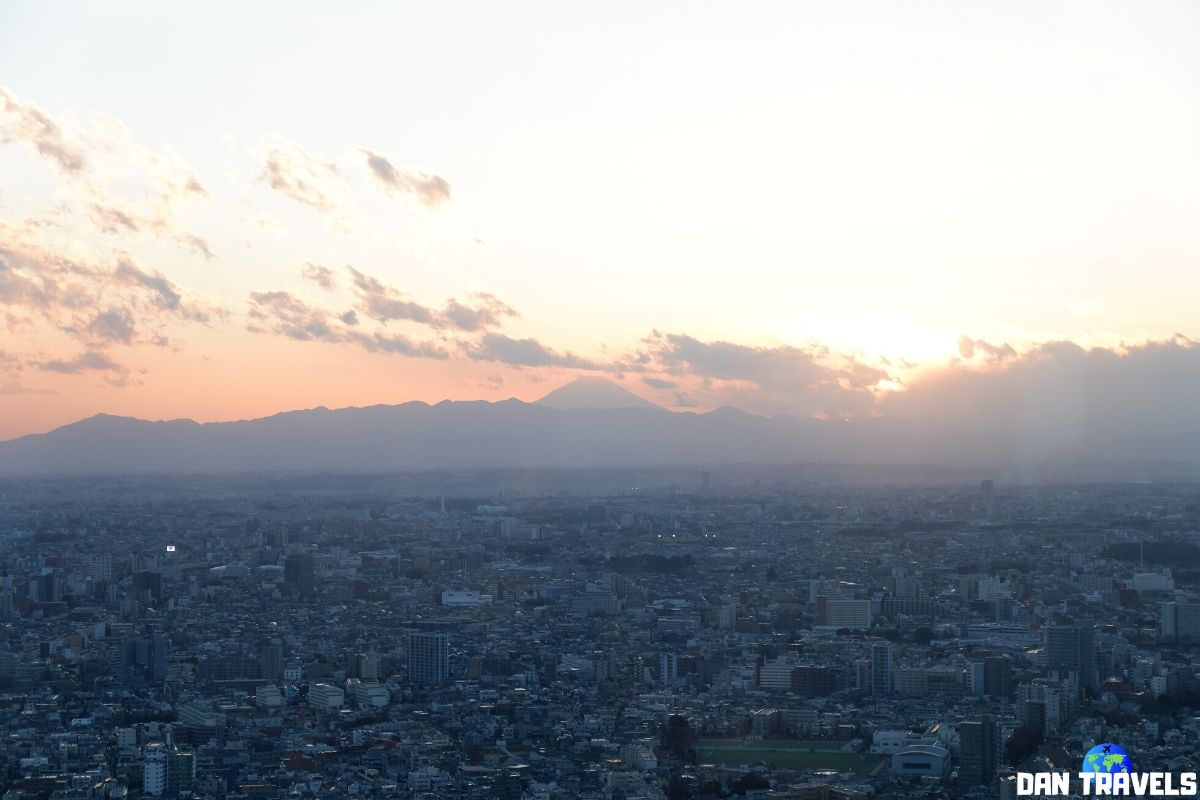 Day 3: I've finally seen Mt. Fuji as viewed from Tokyo's M.G.O. Bldg   Dantravels.org