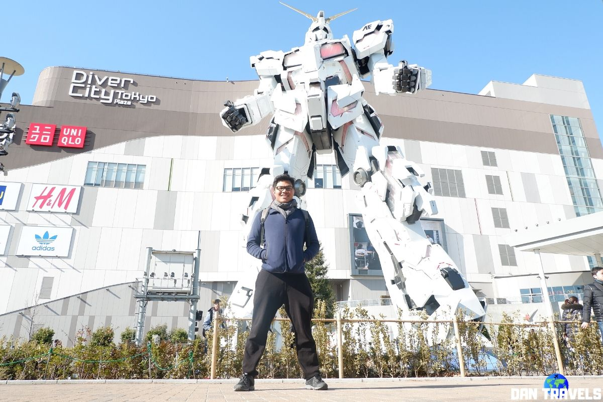 Day 4: The Gundam Statue at Odaiba | Dantravels.org