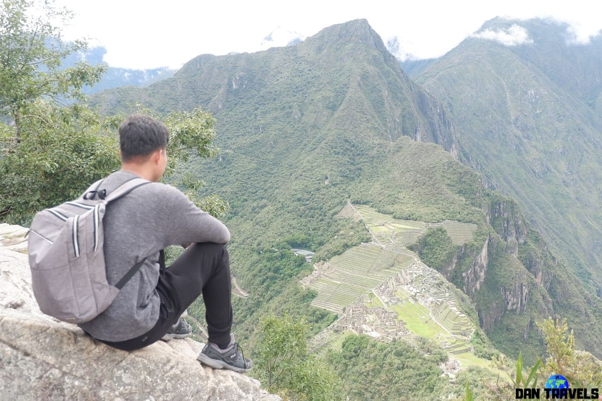Day 5: Overseeing Machu Picchu from the top of Waynu Picchu   Dantravels.org