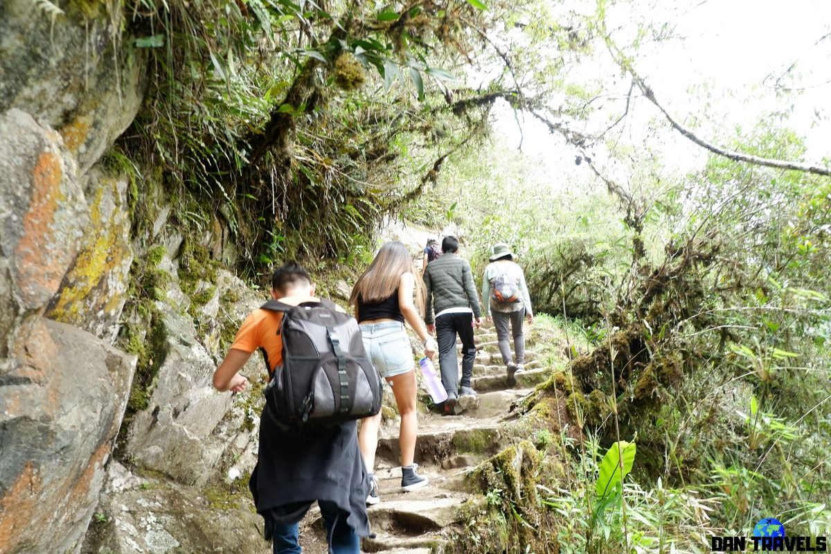 Day 5: Hiking up to the Waynu Picchu mountain | Dantravels.org
