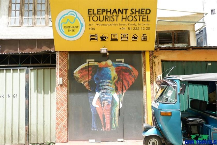 Elephant Shed Tourist Hostel Kandy Sri Lanka blog review