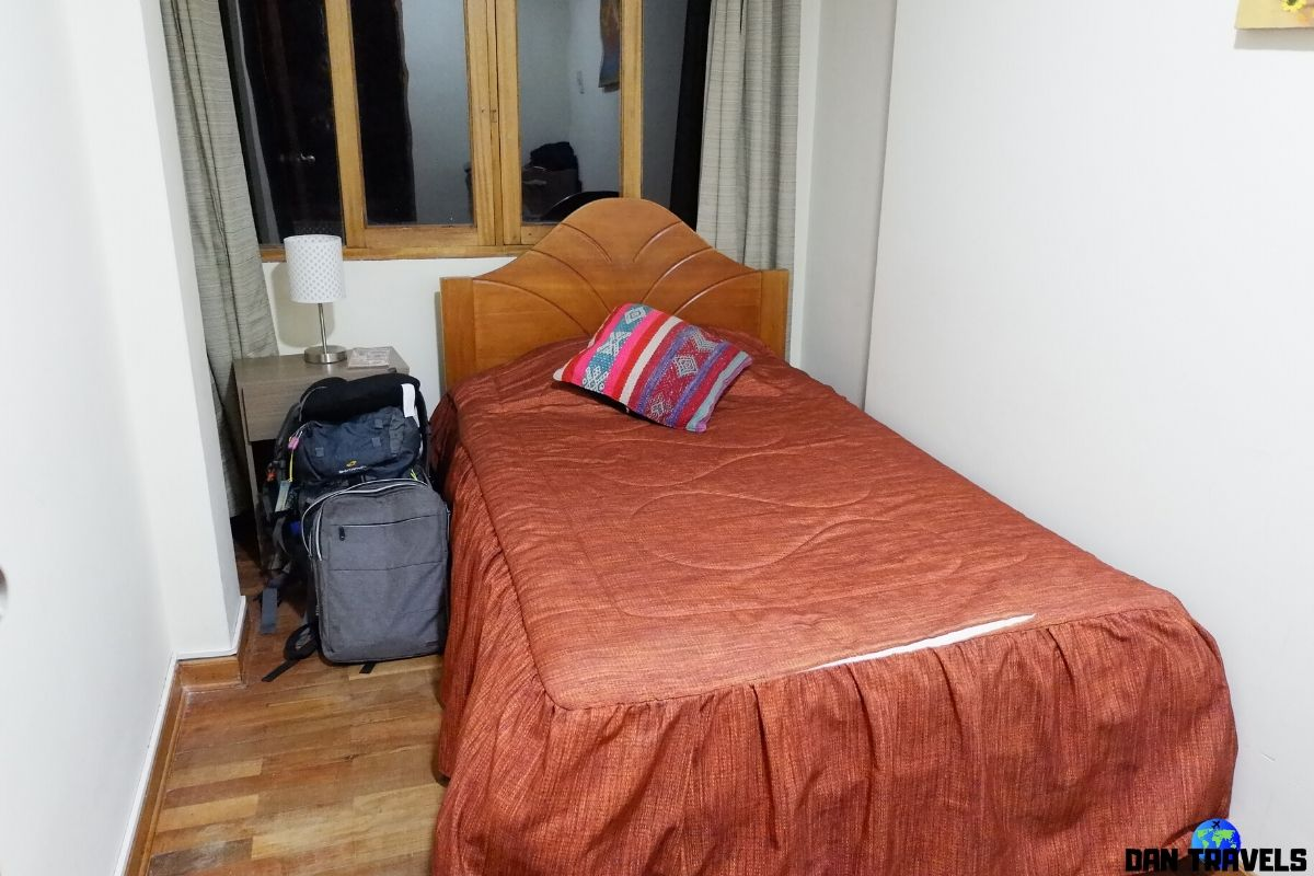 Cusco: Private room at La Casa Ingrid Hostel | Dantravels.org