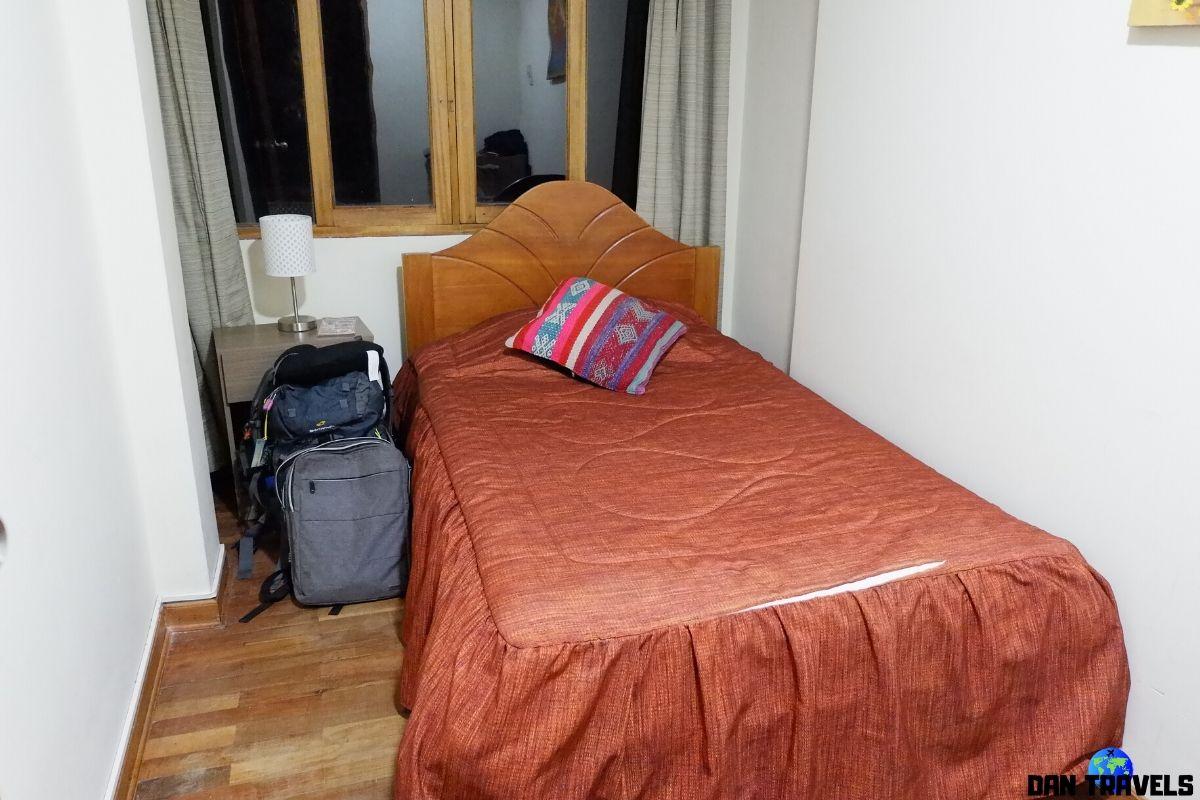 Day 6: My room at La Casa De Ingrid in Cusco