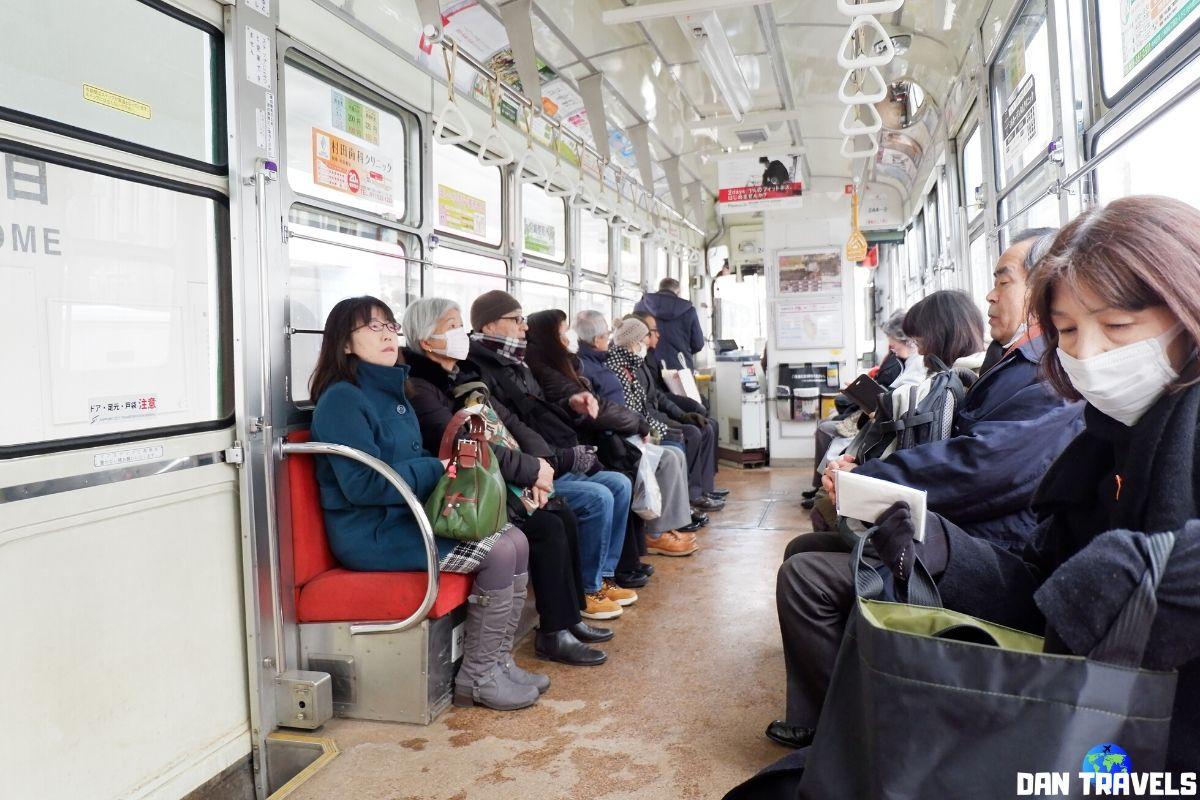Day 6: Inside Sapporo's tram | Dantravels.org