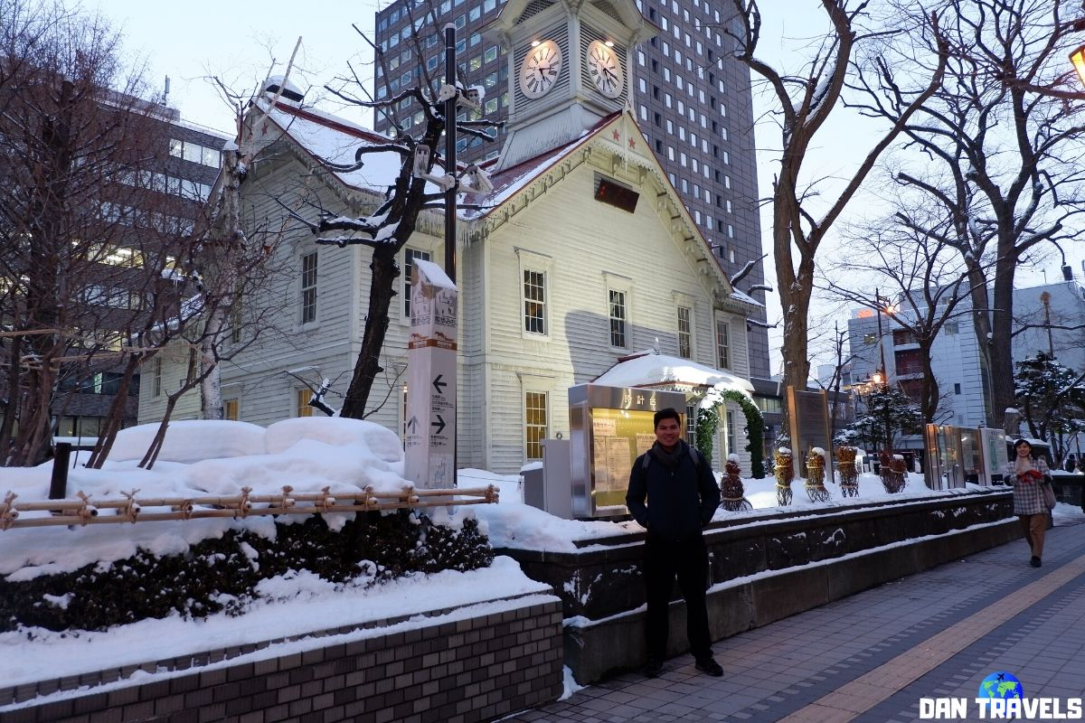 Day 6: Sapporo Clock Tower | Dantravels.org