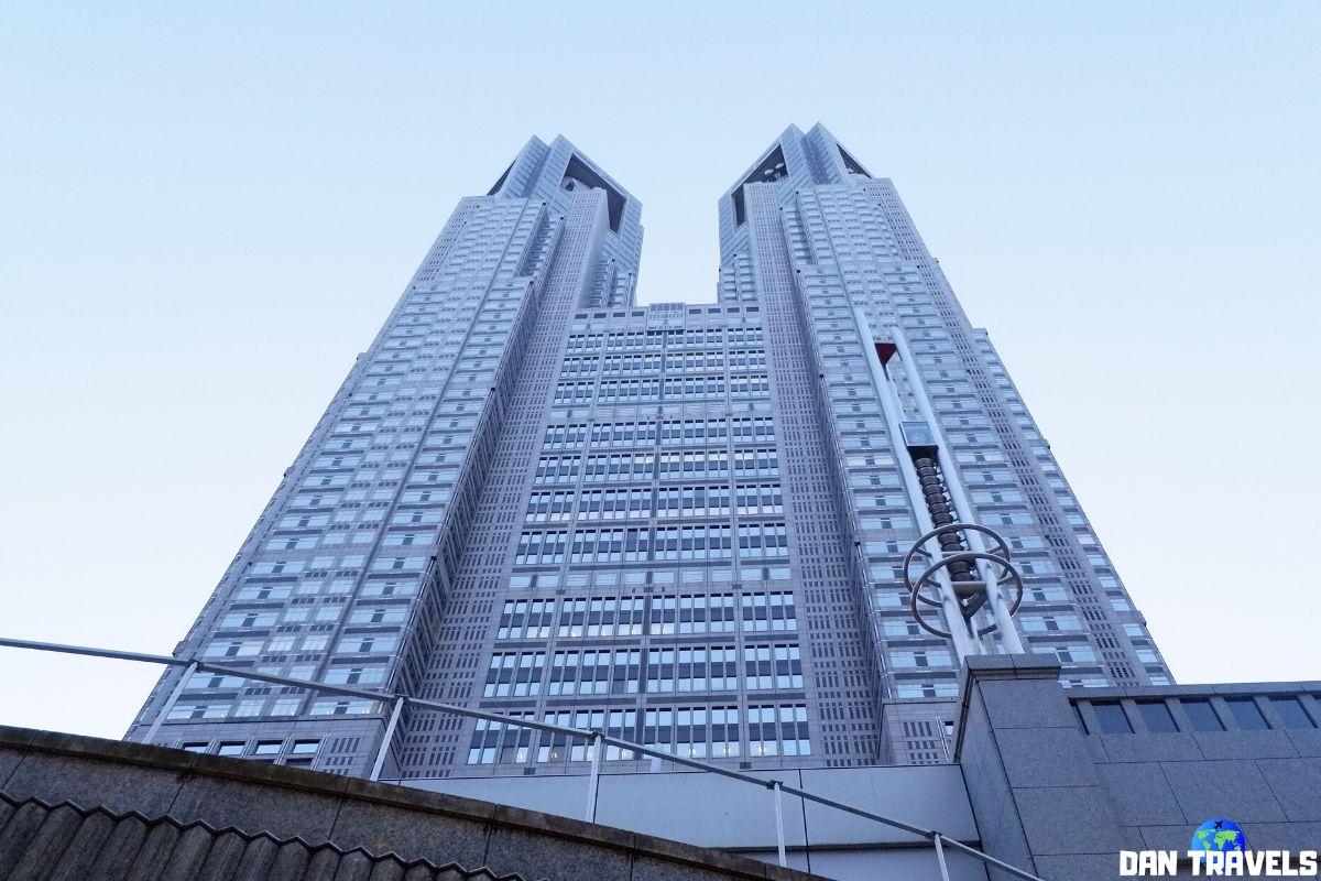Day 3: Tokyo's Metropolitan Office Building | Dantravels.org