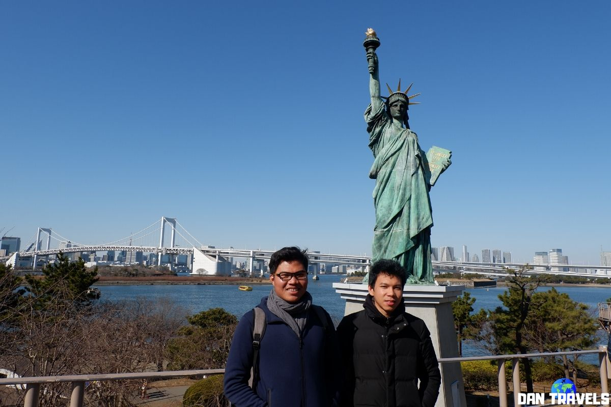 Day 4: My college classmate, Jomark at Odaiba | Dantravels.org