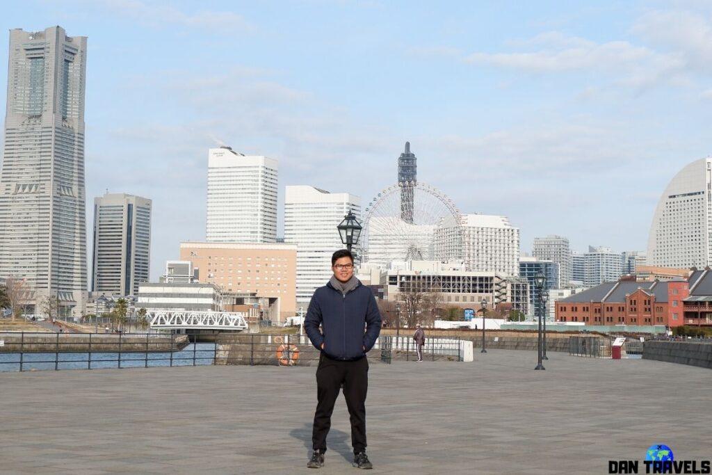 Yokohama's skyline | Dantravels.org
