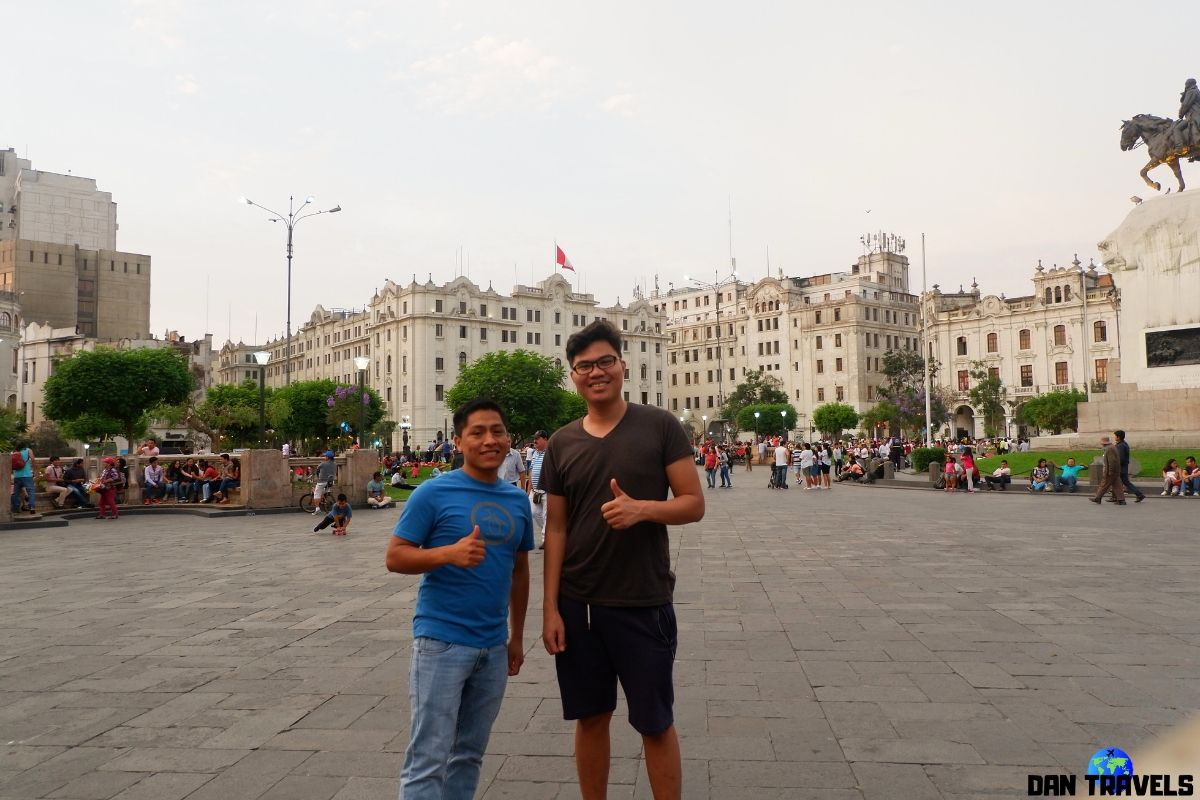 Day 2: Somewhere in Lima with a good friend