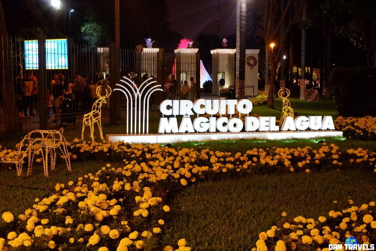 Cirquito Magico Del Agua in Lima | Dantravels.org
