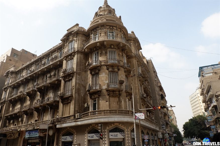 Day 1: The beautiful architecture of downtown Cairo