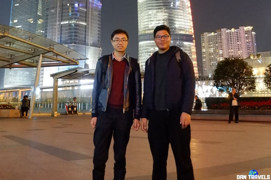Day 7: My good friend Peng from Shanghai.