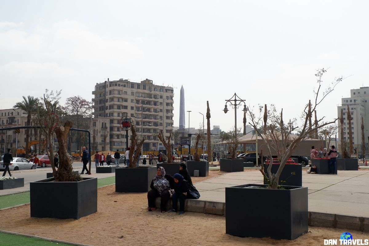 Day 1: Tahrir Square - the major public town square in downtown Cairo