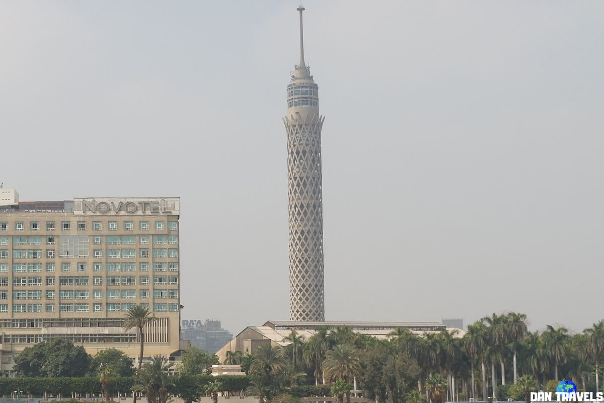 Day 1: Cairo Tower is the tallest structure in Egypt (and even in all of Northern Africa) at 187 m.