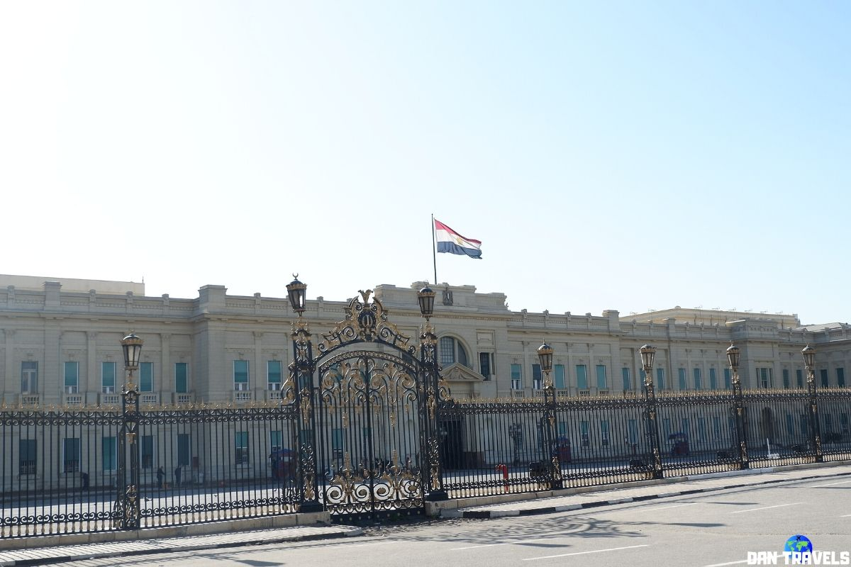 Day 3: Cairo's Abdeen Palace Museum.