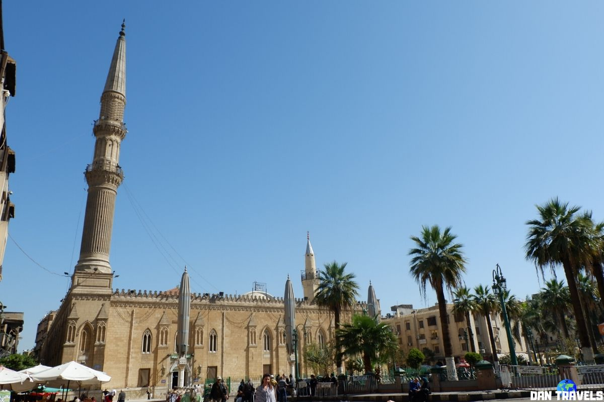 Day : Another incredibly stunning mosque in Cairo is the Al-Hussain Mosque.