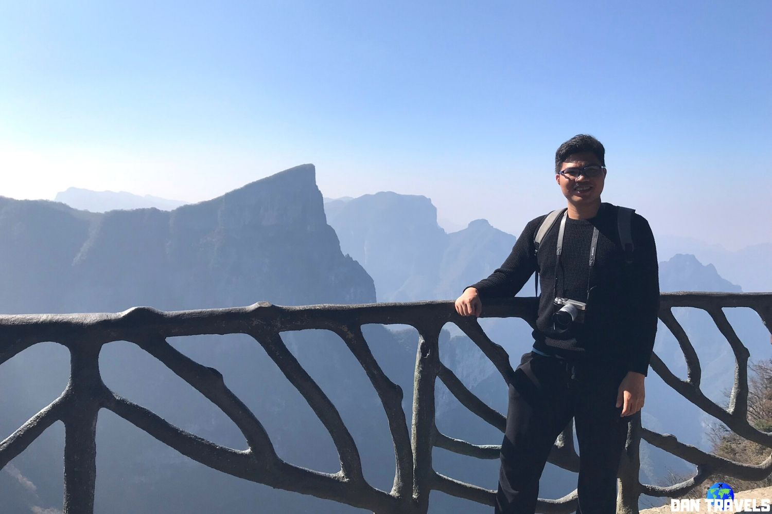 Day 4: Breathtaking view from the top of Tianmen mountain