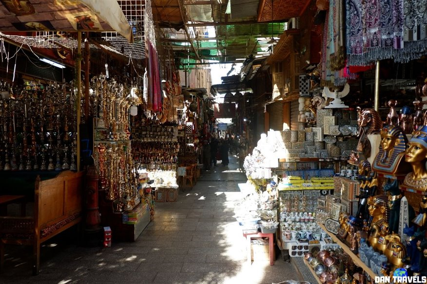 Day 3: The famous Khan El-Khalili bazaar is just located beside the Al-Hussain Mosque.