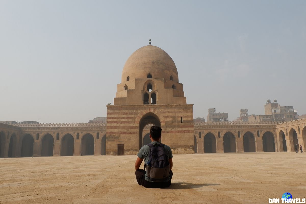 Day 2: Ibn Tulun Mosque is the largest mosque in Cairo in terms of land area.