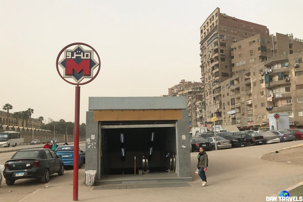 Day 0: El Shams Club station is the first metro station in Cairo I hop into