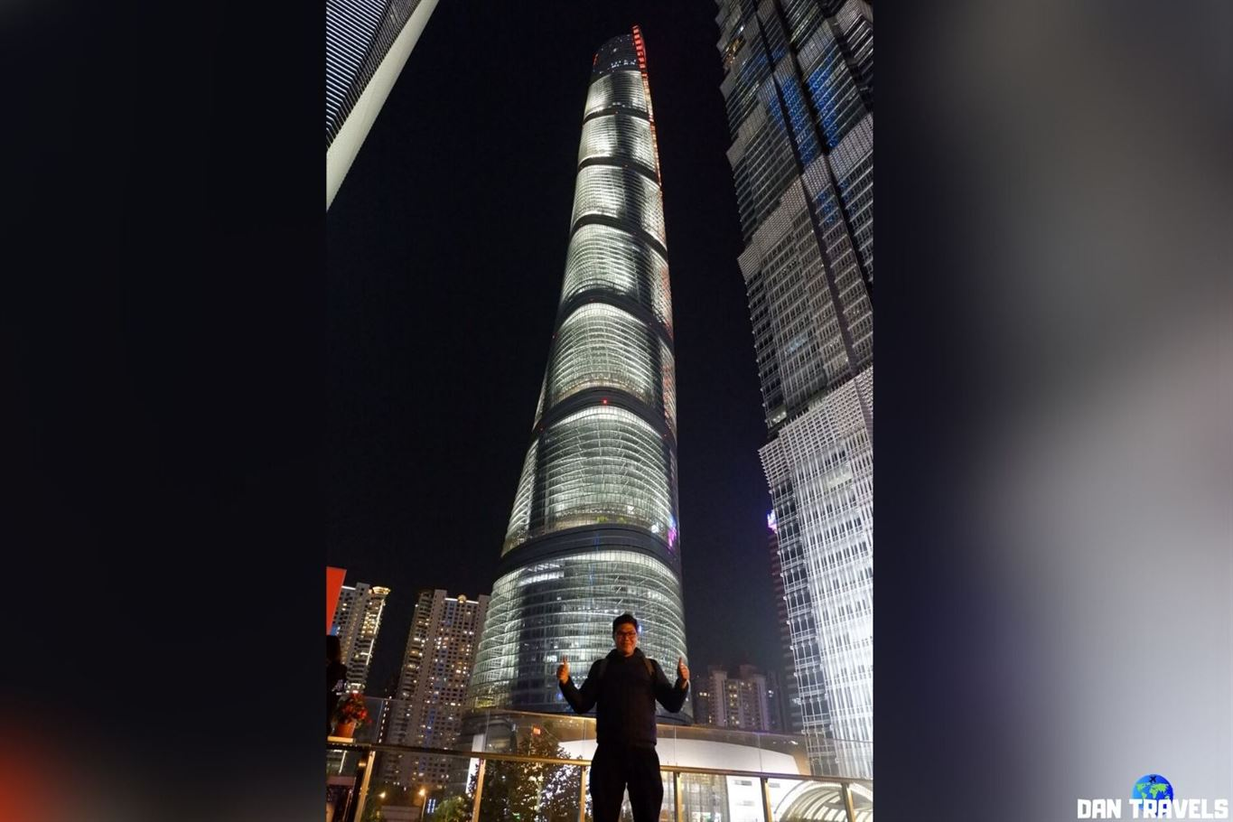 Day 7: Shanghai Tower behind me.