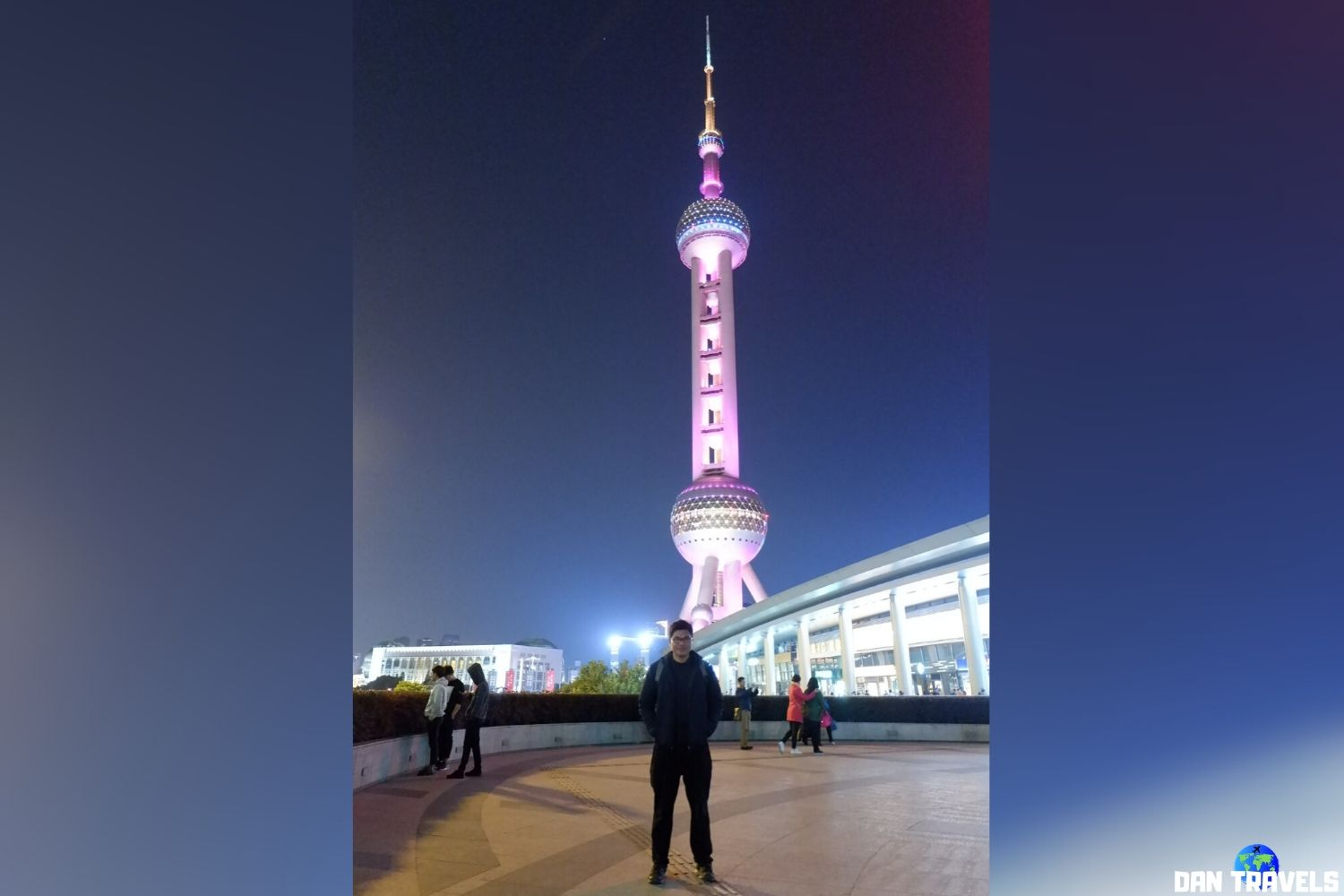 Day 7: And this one is Oriental Pearl Tower.