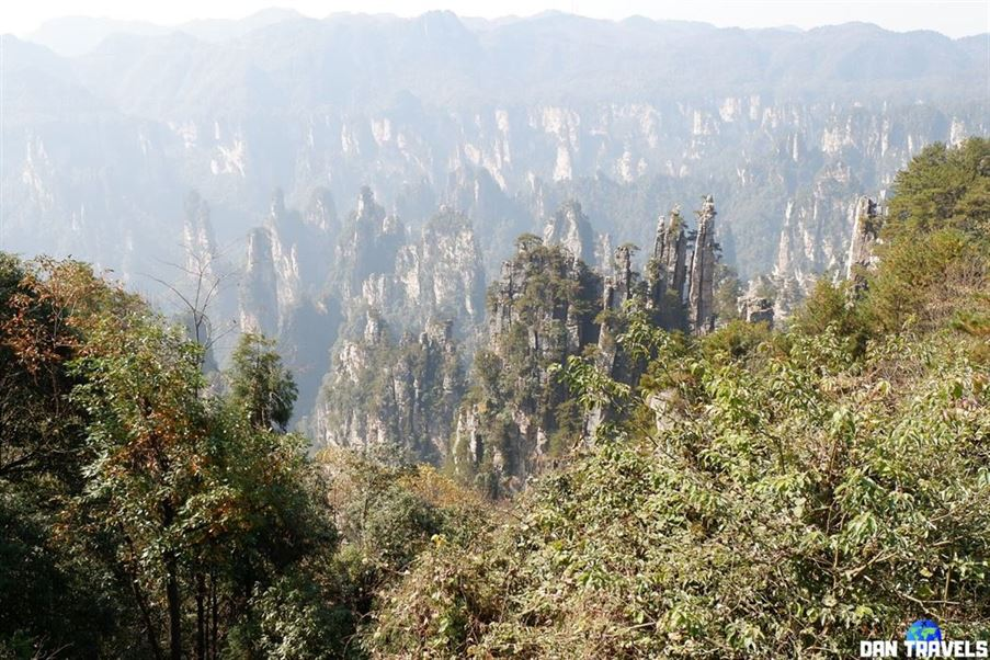 Day 3: The Yubi Peak in Tianzi Mountain.