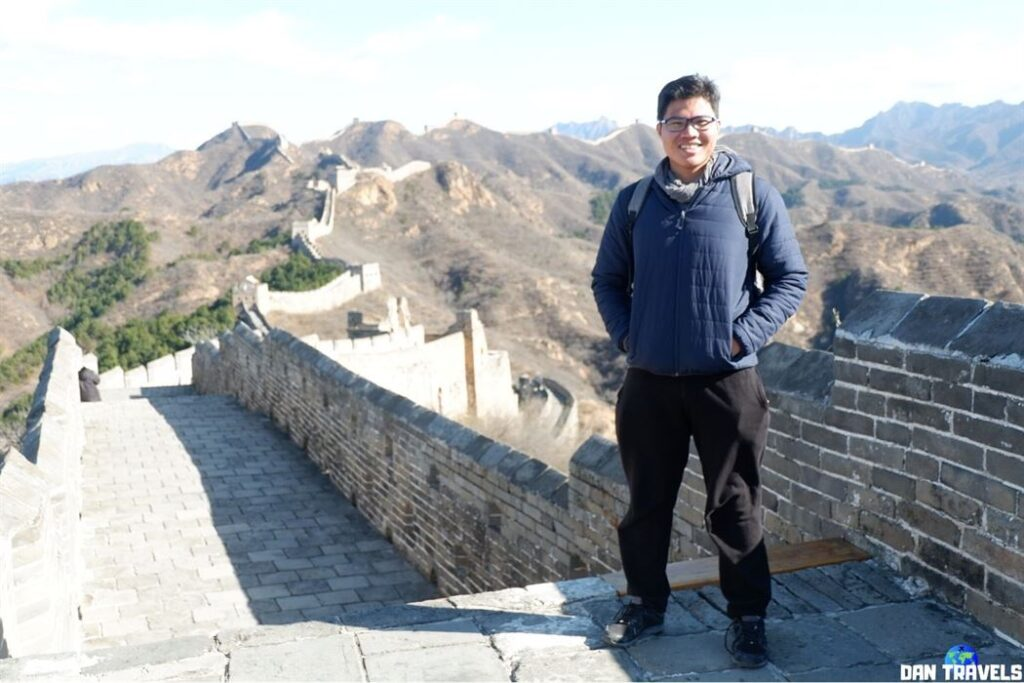 Dan Travels to Great Wall of China