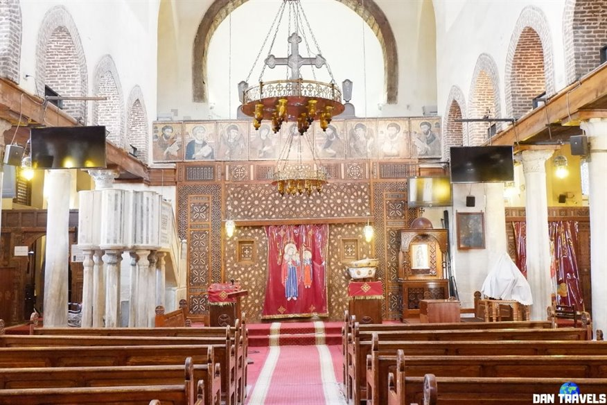 Day 1: St. Barbara Church in Coptic Cairo