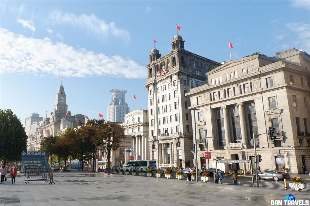 Some classical architecture near The Bund in Shanghai