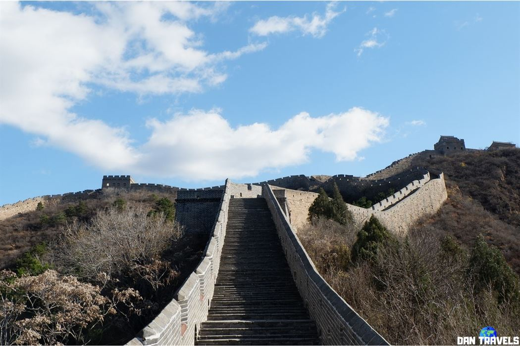 Day 5: The beautiful Great Wall of China.