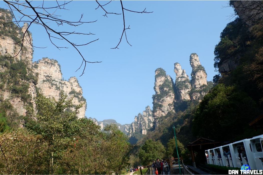 Day 3: The '10-Mile Gallery' peaks of Zhangjiajie National Forest Park.