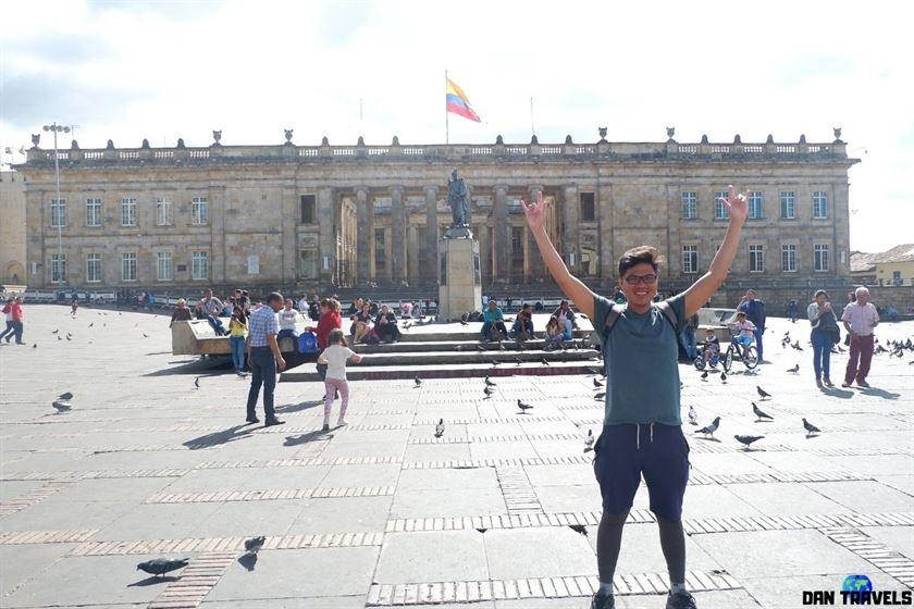 Plaza Bolivar, Bogota Colombia