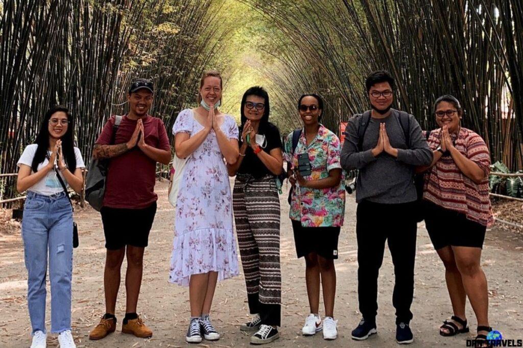 Nakhon Nayok Bamboo Tunnel